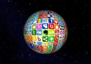 Los idiomas de las redes sociales en el mundo