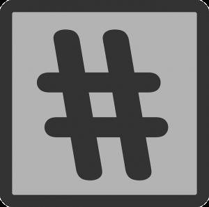 Hashtags de traducción.
